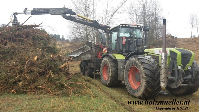 Xerion 3800vc mit Mus-Max WT11